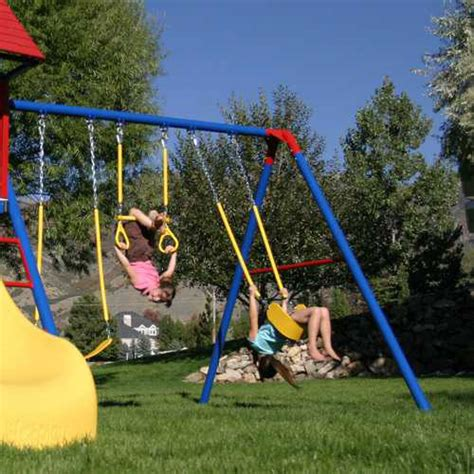 lifetime swing set accessories lifetime 90137 metal playground on sale with fast free