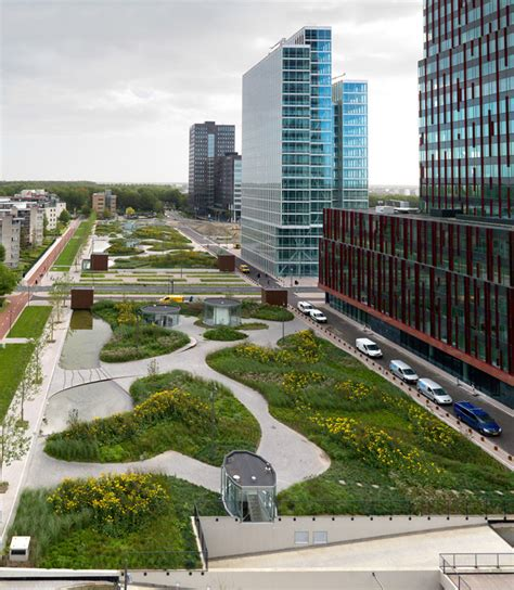 Landscape Architect Mandelapark Almere By Karres Brands 171 Landscape