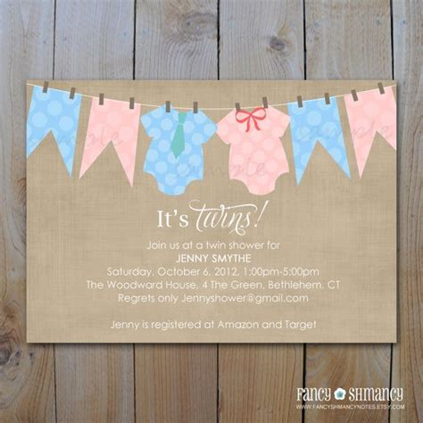 T Shirt Baby Shower Invitations by Baby Shower Invitation Baby T Shirt Clothesline