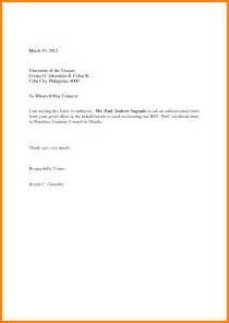 Authorization Letter Under Gst Claim Letter Sample Hotel Example Claim Letter