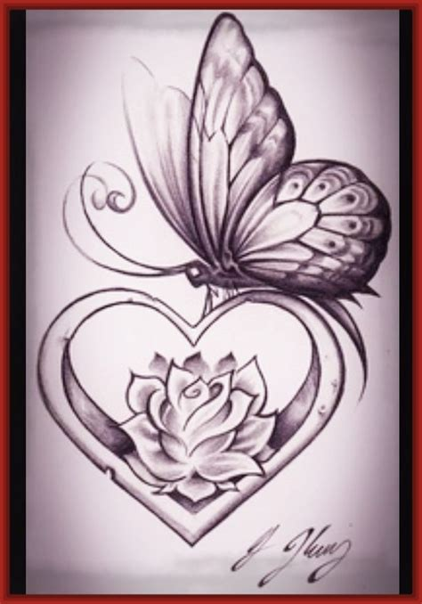 imagenes a lapiz romanticos dibujos de corazones de amor a lapiz www pixshark com