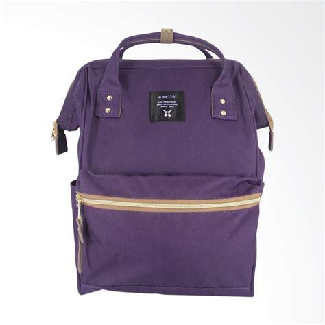 Fashion Baru Tas Wanita Anello At Backpack P26xt17xl39cm Coklat jual anello oxford backpack polyester tas wanita purple harga kualitas terjamin