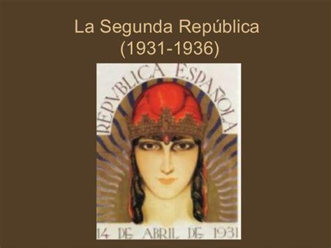 la segunda repblica 1931 1936 8477375275 la segunda republica espa 241 ola