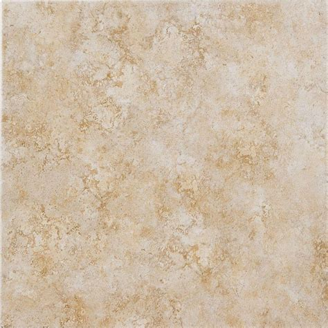 fliese sand megatrade 18 in x 18 in caribbean sand ceramic floor and