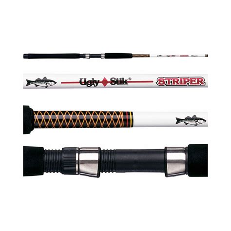 boat trailer guide rods shakespeare ugly stik striper rods tackledirect