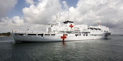 hospital ship china s hospital ship stays home while typhoon toll