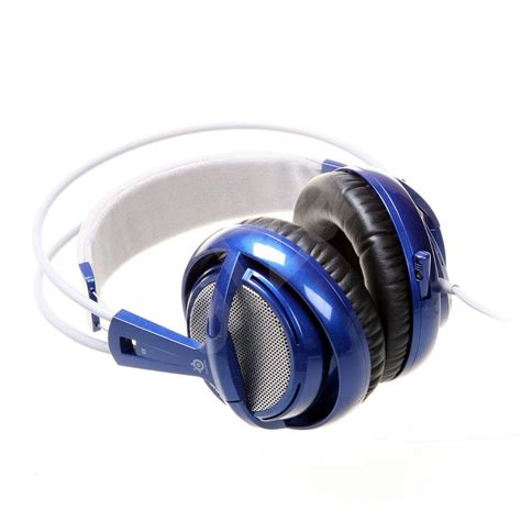 Headset Steelseries Siberia V2 Blue steelseries siberia v2 blue alzashop