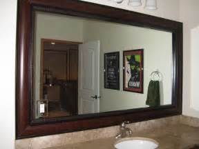 Bathroom Mirror With Frame Beautiful And Mirror Frame Kits Traditional Bathroom Salt Lake City By Reflected