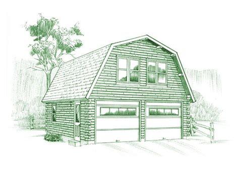 gambrel roof plans gambrel garage plan ward cedar log homes