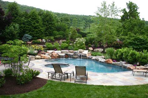 Landscape Design Quakertown Pa Poolscape Design Designer Landscaping Doylestown Pa