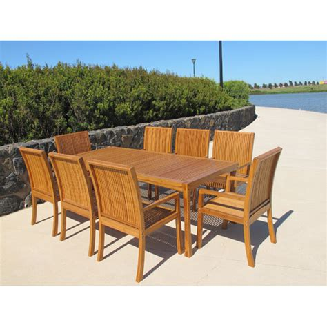 Mimosa High Back Bamboo Armchair Temple Webster Pacific Patio Furniture