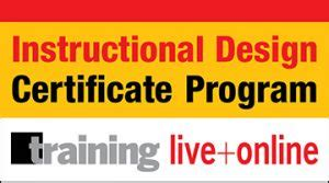 instructional design certificate wisconsin elearning workshops elearningindustry com