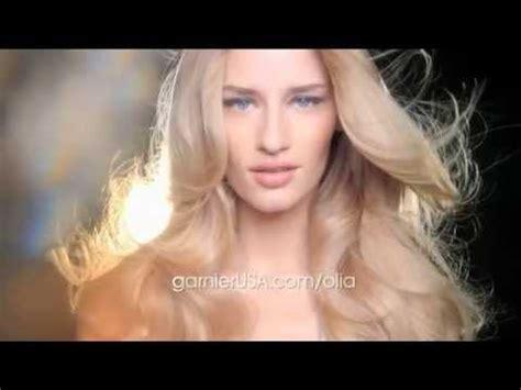 actress in tv commercials hair color garnier quot olia quot hair color tv commercial winter 2014