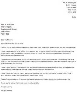 Airline Pilot Cover Letter by Pilot Cover Letter Exle Icover Org Uk