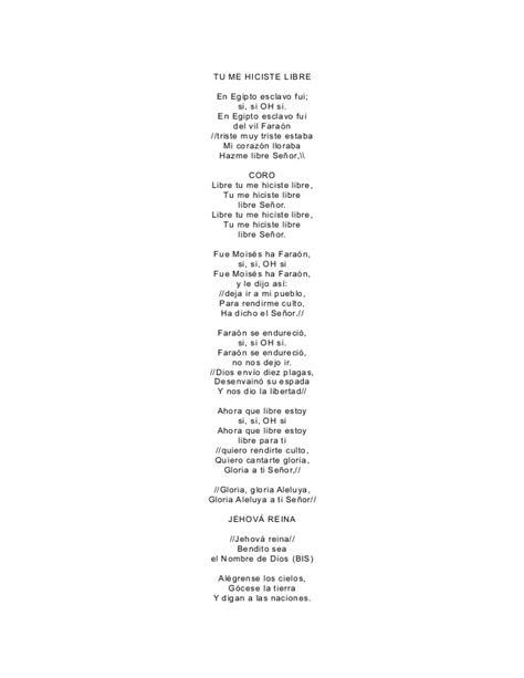 letra de cantos cristianos letra de coros cristianos para imprimir pictures to pin on