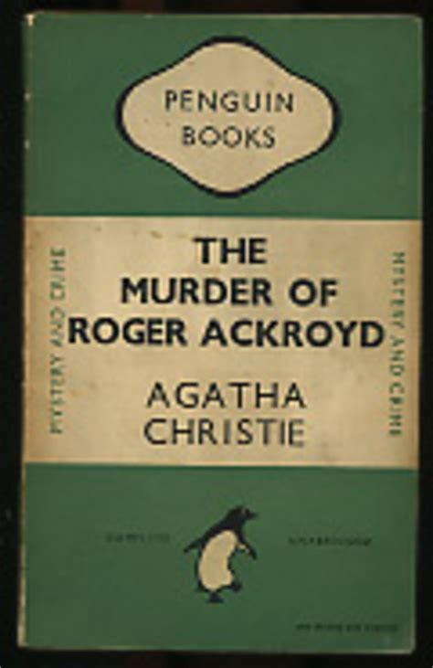 the murder of roger ackroyd a hercule poirot mystery hercule poirot mysteries the murder of roger ackroyd 183 agatha christie 183 k 246 nyv 183 moly