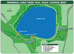 Green Lakes State Park Map by Waneka Lake Disc Golf Course Lafayette Co Official