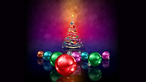 wallpaper xmas tree christmas balls decoration  celebrations christmas