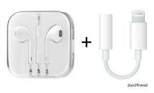 genuine apple md827ll a earpods earphones for iphone x 8 7 6 5 4s w remote mic ebay