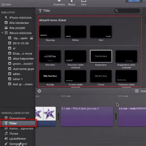 imovie tutorial adding text easily add subtitles to videos in imovie