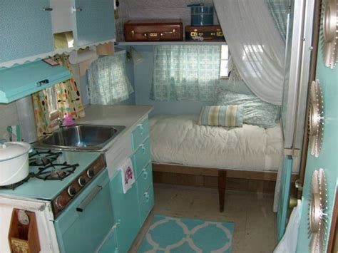 travel trailer remodel 9 gl in style with this 1965 remodeled vintage cer