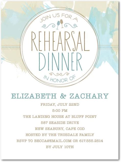 rehearsal dinner invitations wedding paper divas 38 best rehearsal dinner images on wedding stuff invitation cards and jar
