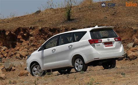 toyota innova price in india top model new toyota innova crysta launched price starts at rs 13