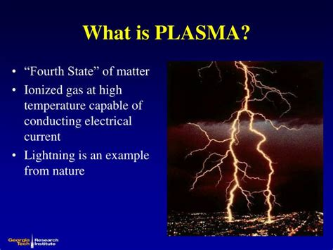 what is plasma matter ppt plasma arc gasification of municipal solid waste