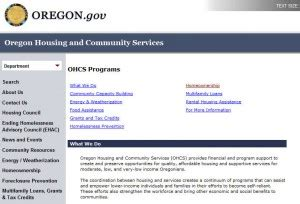 oregon time home buyer programs