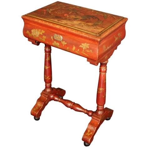 Se Chi Cuen Tea Box Besar japan lacquered chinoiserie table for sale at 1stdibs