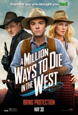 film comedy west a million ways to die in the west wikipedia