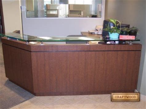angled reception desk office reception area custom desks