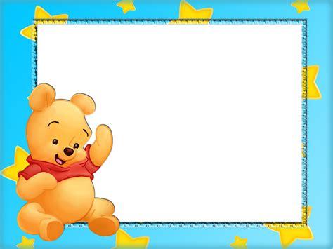 imagenes de winnie pooh sin fondo marcos para fotos marcos para foto bebe