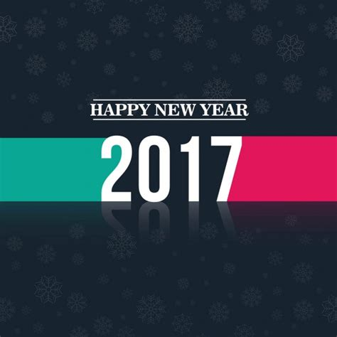 modern new year stylish and modern new year background vector free