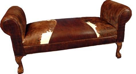 western bench triumph western cowhide bench western benches free shipping