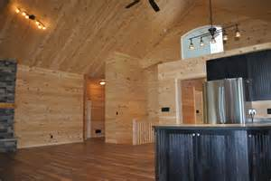 Stained Beadboard - sumptuous tongue and groove pine vogue lakeside cottage tongue groove pine vaulted ceiling other