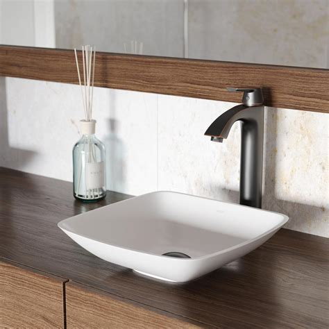 what is matte sink vigo hyacinth matte vessel sink in white with linus