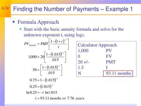 Credit Card Number Formula Ppt Discounted Flow Valuation Powerpoint