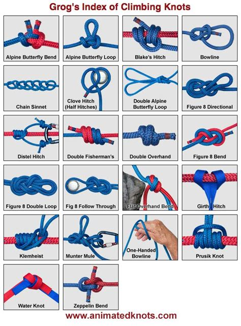 How To Make Different Knots - in scouting september 2012