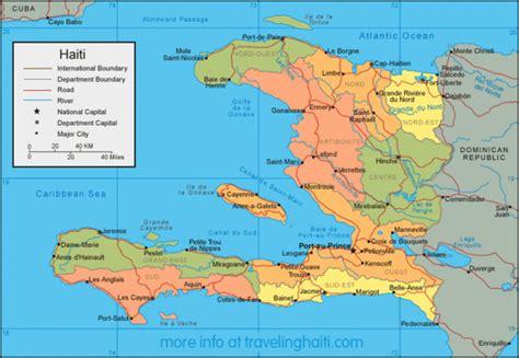 map of haiti cities haiti map haiti mappery