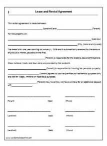 one page rental agreement template house lease agreement template lease agreement template