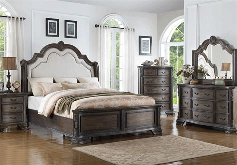 antique queen bedroom set sheffield antique gray queen bedroom set evansville