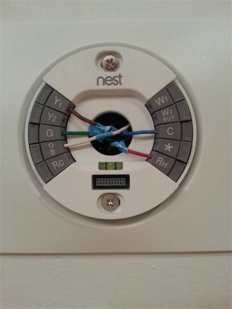 install nest thermostat  trane axiom water