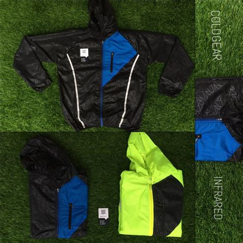 Jual Armour Running jual beli jaket running armour coldgear infrared ready 2 colour black green black blue