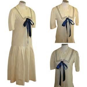Dress Sailor sailor dress vintage edwardian revival from