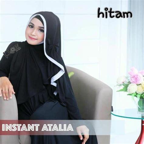 Jilbab Pesta Instan Alifa Fatimah jilbab instan langsung pakai atalia model pesta bundaku net