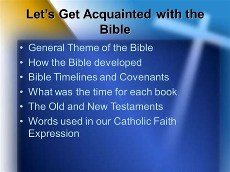 themes of each book of the bible an overview of the bible ppt video online download