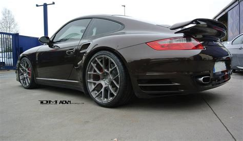 Felgen Porsche 997 by Porsche 997 911 Turbo And Adv7 1 Forged Wheels Gtspirit