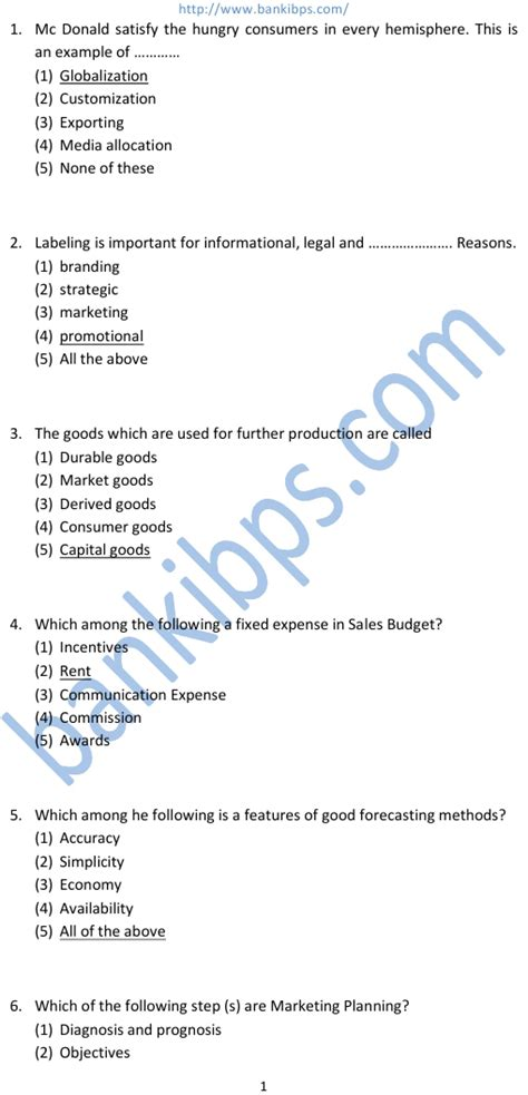 Mba Marketing Questions And Answers Pdf by Questions Marketing Management Kotler Keller