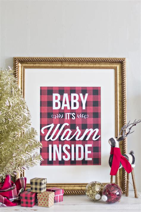 buffalo check plaid  printables capturing joy  kristen duke